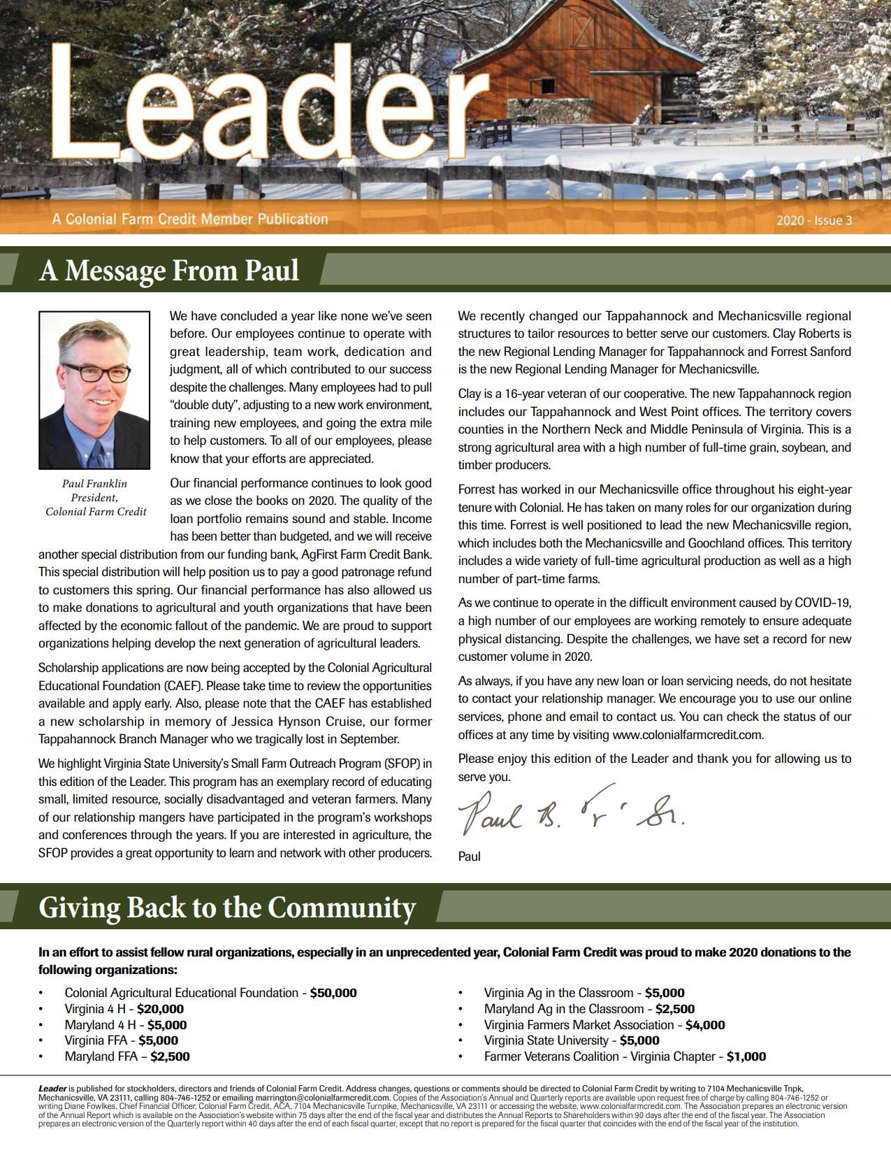 2020 Leader Issue 3