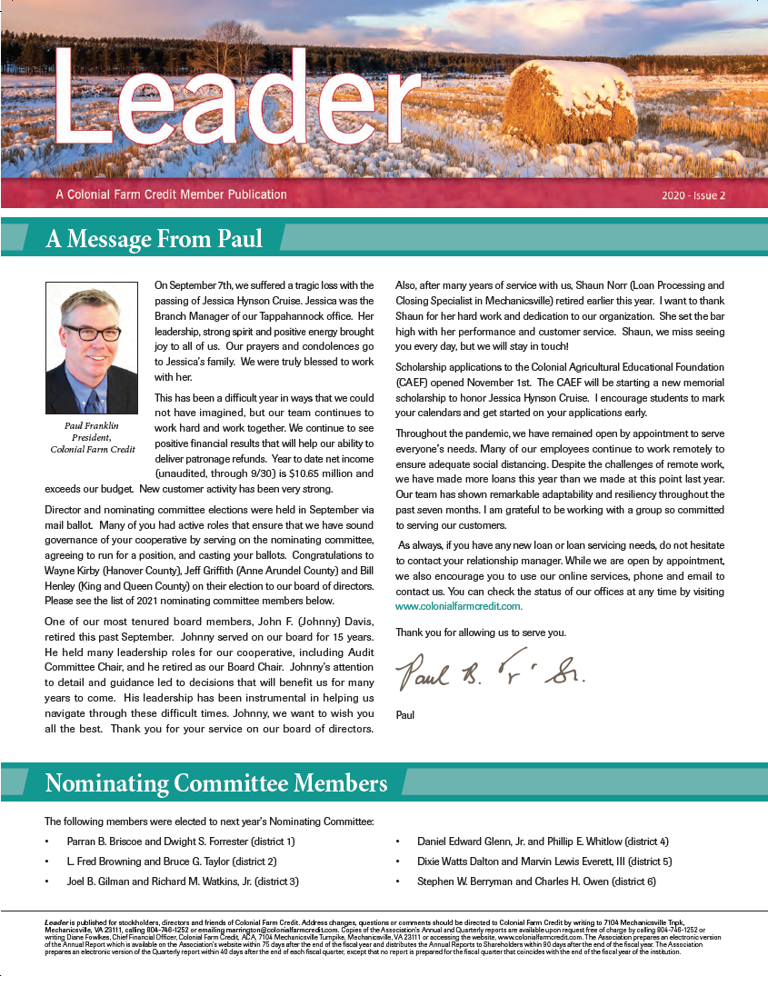 2020 Leader Issue 2